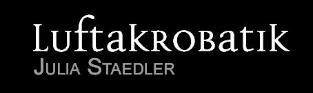 Luftakrobatik – Julia Staedler Logo